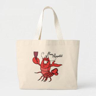Bon Appetit Lobster Jumbo Tote Bag