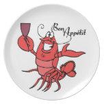 Bon Appetit Lobster Plates