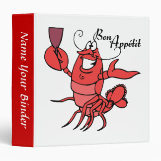 Bon Appetit Lobster Recipe Binder