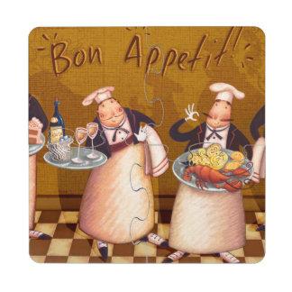 Bon Appétit Posavasos De Puzzle