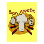 Bon Appetit Post Cards