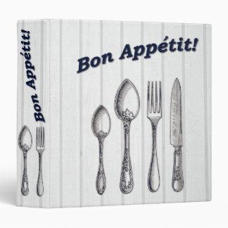 Bon Appetit! Recipe Binder