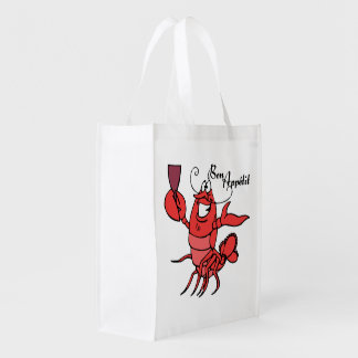 Bon Appetit Red Lobster Grocery Bags