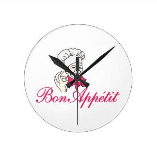 Bon Appetit Reloj Redondo Mediano