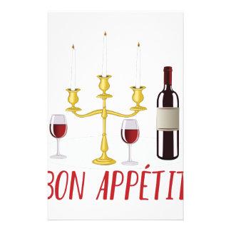 Bon Appetit Stationery