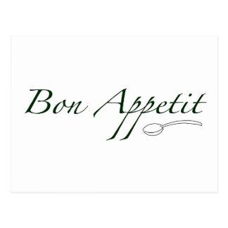 Bon Appetit Tarjetas Postales