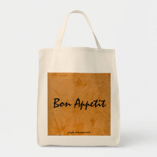 Bon Appetit Tuscan Orange Grocery Bag