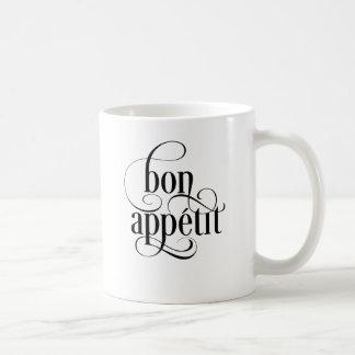 Bon Appetit Typography Coffee Mug
