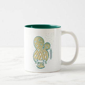 Bon Bon Girl - Dragonfly Two-Tone Coffee Mug