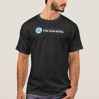 """Bon-Bon"" Logo on Dark Colored T-shirt"