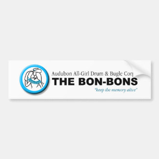 'Bon Bons' Bumper Sticker Car Bumper Sticker
