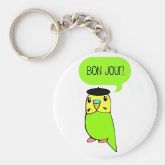 Bon Jour! Keychain