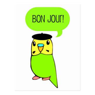 Bon Jour! Post Cards