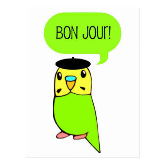 Bon Jour! Postcard