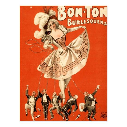 Bon Ton Berlesquers Postcard