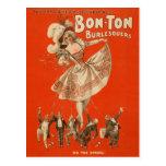 Bon-Ton Burlesquers! - Postcard