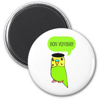 Bon Voyage! 2 Inch Round Magnet