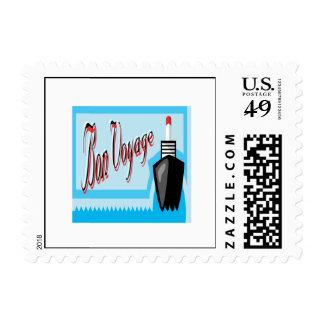 Bon Voyage 2 Postage Stamps