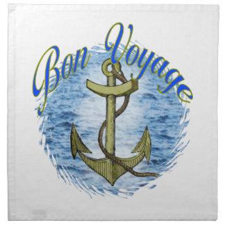 Bon Voyage American MoJo Napkin