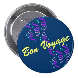 Bon Voyage B2B Pinback Button