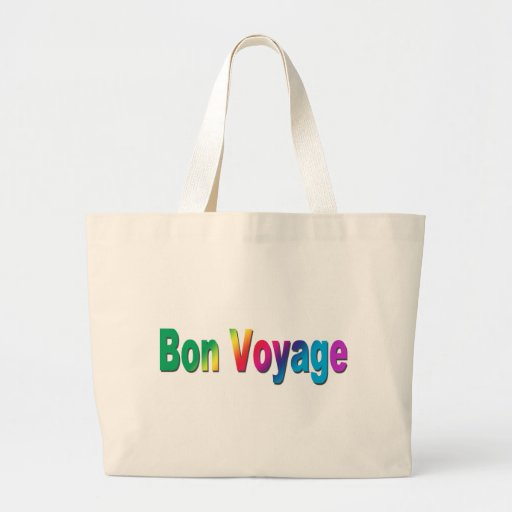 Bon Voyage Canvas Bags
