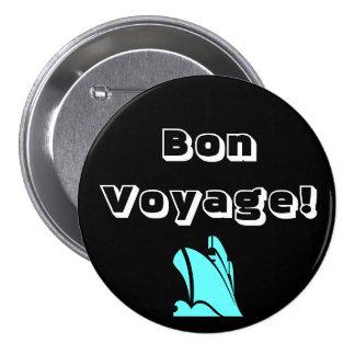 Bon Voyage Black Button
