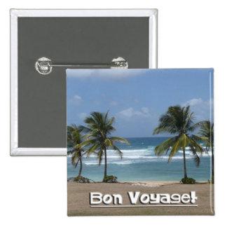 Bon Voyage! Button