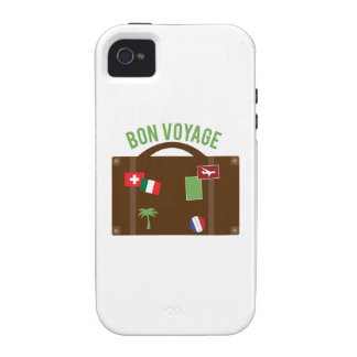 Bon Voyage Vibe iPhone 4 Covers