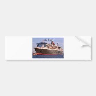Bon Voyage: cruise ship Bumper Sticker