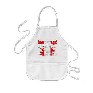 Bon Voyage - Good Trip in Canadian -  Vacations Kids' Apron