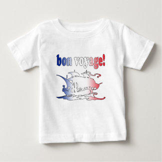 Bon Voyage Good Trip in French Vacations Travel Baby T-Shirt