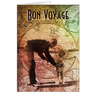 Bon Voyage Greeting card