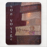 Bon Voyage greetings & gifts Mouse Pad