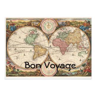Bon Voyage Personalized Announcement