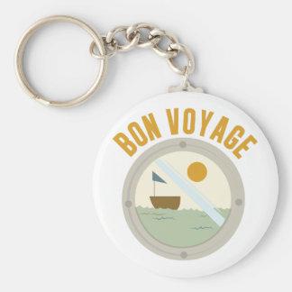 Bon Voyage Keychain