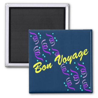 Bon Voyage Refrigerator Magnet