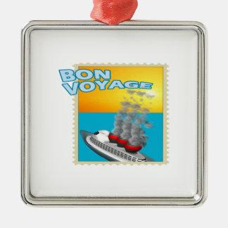 Bon Voyage Metal Ornament