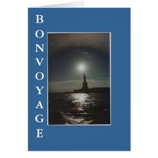 BON VOYAGE - New York, New York Card