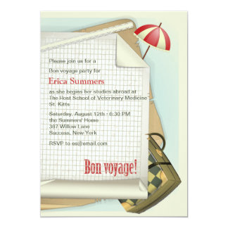 Bon Voyage Party Invitation