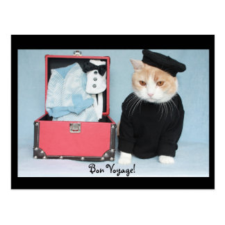 Bon Voyage! Post Cards