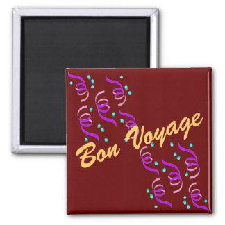 Bon Voyage R1M 2 Inch Square Magnet