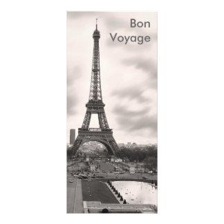 Bon Voyage Rack Card