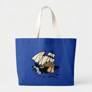 Bon Voyage Ship Tote Bag