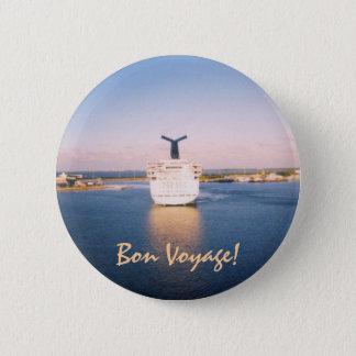Bon Voyage Ship Stern Button