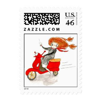 Bon Voyage Stamp