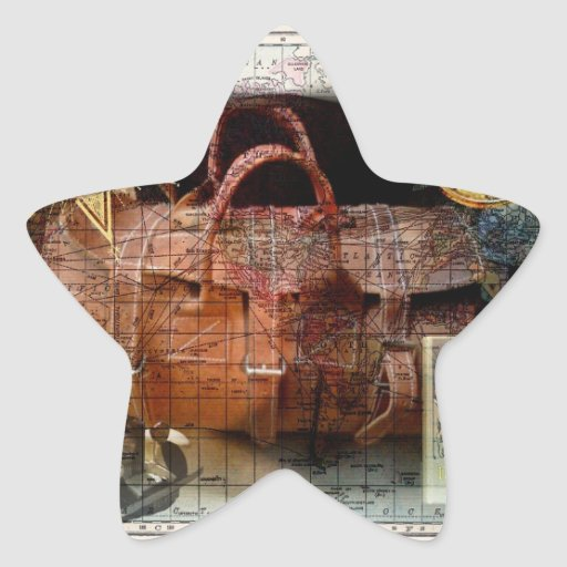 Bon Voyage Star Sticker