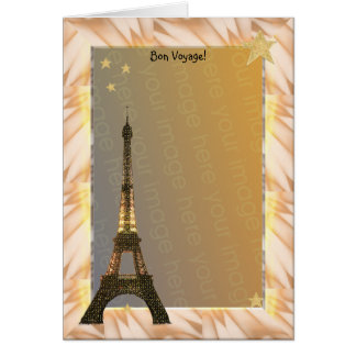 Bon Voyage! Template Card