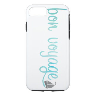 BON VOYAGE watercolor iPhone 7 Case