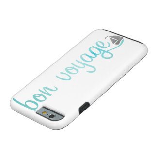BON VOYAGE watercolor Tough iPhone 6 Case