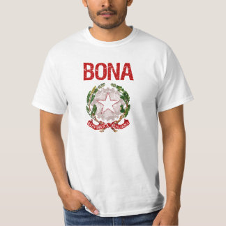 Bona Italian Surname Tees